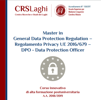 Master in General Data Protection Regulation
