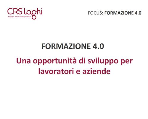 Focus Formazione 4.0
